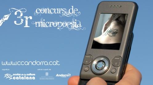 Ja és en marxa el 3r Concurs de Micropoesia