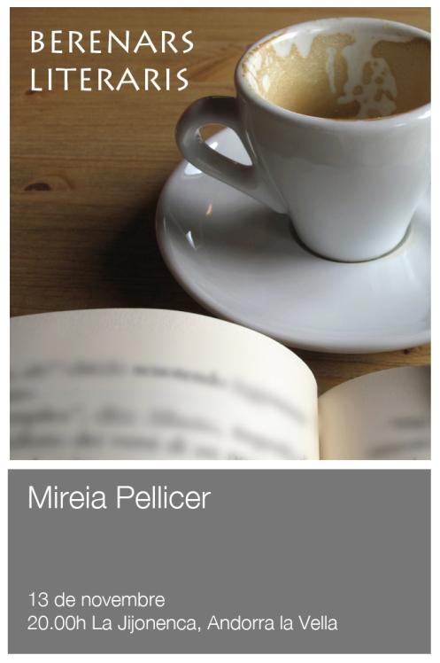 Mireia Pellicer als Berenars Literaris