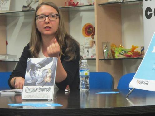 Carme Puche presenta el Llibre 'Quins clàssics!' al CCC