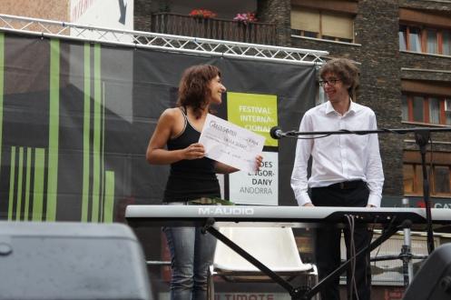 Concert del 13è Premi Carles Sabater a la Plaça dels Coprínceps d'Escaldes-Engordany