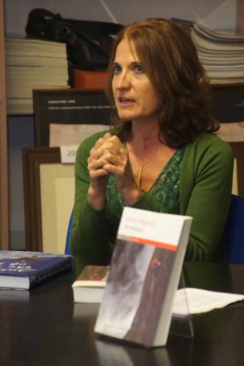 Núria Perpinyà omple el CCC amb la presentació de 'Al Vertigen' a la tercera de les Presentacions Literàries